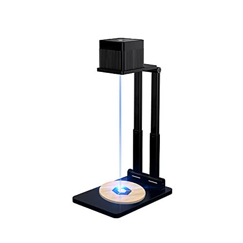 Mini máquina de grabado, pequeña inyección de luz, marcadora de escritorio, cortadora láser, impresora para bricolaje, diseño de logotipo, artesanía, madera, papel y piel