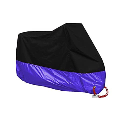 Motorcycle cover Ajuste para la cubierta de la motocicleta impermeable al aire libre tienda de motos al aire libre UV Lluvia Bicicleta Funda para moto Caja de protección de la casa de la casa