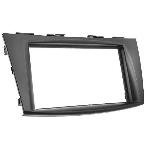 Adaptador fascia Panel De Radio De Fascia De Coche Para Suzuki Swift 2011+ Double Din Frame Adapter Placa De Adaptador Para ERTIGA 2012+ Kit Kit Instale La Portada De La Consola ( Size : 173x98mm )