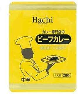 ハチ食品 カレー専門店のビーフカレー 中辛200g×30個入×(2ケース)