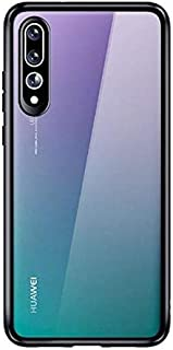 Huawei P20 Pro Case Cover, transparent + Black