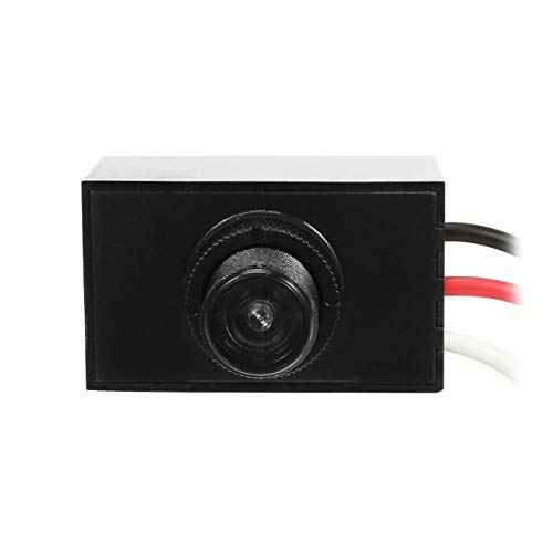 Outdoor Hard-Wired Post Eye Light Control with Photocell Light Sensor, 120-277VAC 50/60Hz, Dusk to Dawn Light Sensor, photocell Sensor for Outdoor Light (UL Listed)-1 Pack