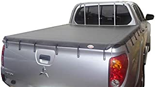 Mitsubishi Triton MN October 2009 to June 2015 Dual Cab Suits Headboard & Without Sports Bar Bunji Ute Tonneau Cover.