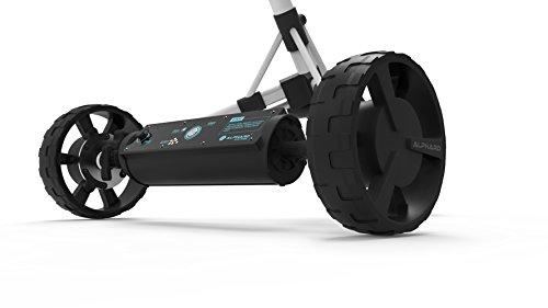 eWheels Unisex Club Booster Push Trolley Konverter für die Rovic rv2l, schwarz, one Size