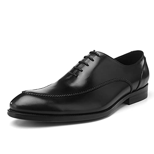 Sdmcdamzzy Herren Informal Classic Oxfords formelle Kleid Schuhe Brogues Derbys, schwarz, EU38 thumbnail