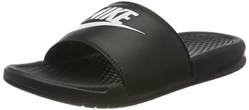 Nike Wmns Benassi JDI, Scarpe da Ginnastica Donna, Black/White/Black, 38 EU