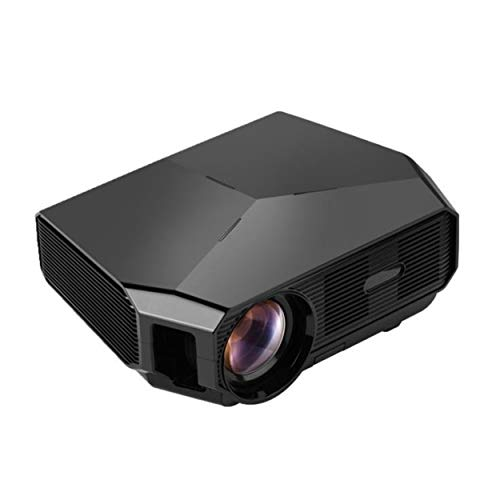 QINGTIAN Wifi Projector,portable Bluetooth 4K Projector,home Projection Mobile Phone All In One,wireless 3D Home Theater
