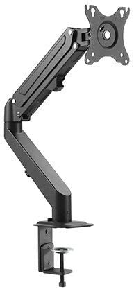 Impact Mounts Monitor Desk Mount - Height Adjustable Gas Spring Assisted Full-Motion Easy Access, Holds 15
