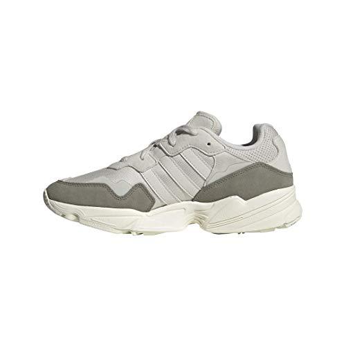 adidas Originals Men's YUNG-96 Running Shoe, raw White/raw White/Off White, 4.5 M US
