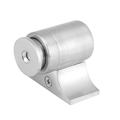 Alvinlite Tope magnético para Puerta, Tope, Puerta, Puerta, Montaje en Pared, Hardware, Protector de Pared para el Hotel de Oficina en casa(Plata)