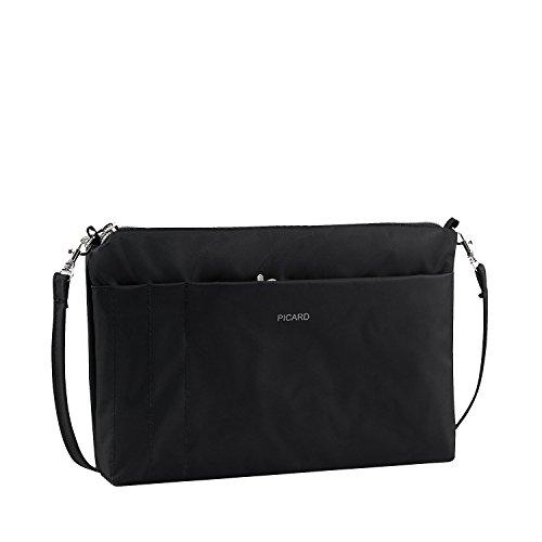 Picard Switchbag Umhängetasche aus Synthetik Nylon, Karabiner, Steckfächer, Trageschlaufe und Reissverschluss - Taschenorganizer 15 x 20 x 3 cm (H/B/T) Damen (7841)