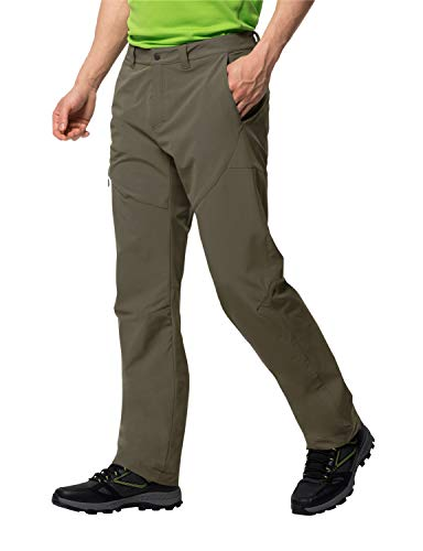 Jack Wolfskin Herren Chilly Track XT Pants Men Softshell-Hose, Granite, 98
