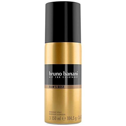 bruno banani Man\'s Best Deodorant Body Spray, maskulin, 1er Pack (1 x 150 ml)