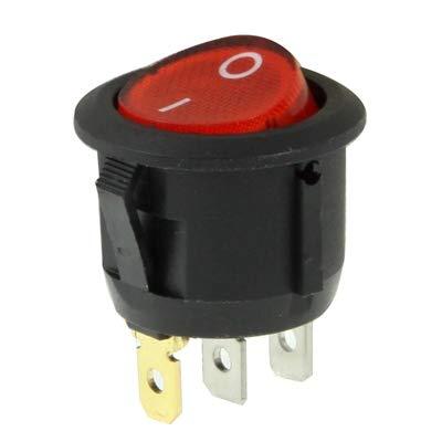 Panel de interruptores de 12v Rocker interruptor de DIY for Racing Sport (10 piezas)