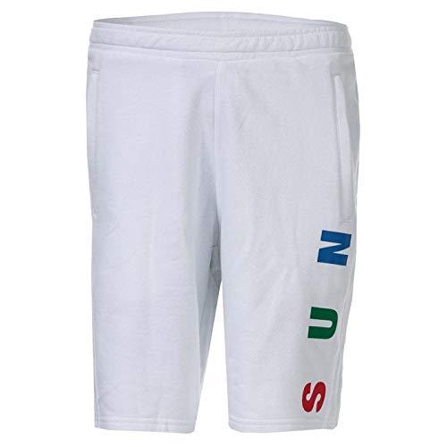 adidas Originals Pharrell Williams HU TBIITD - Pantalones cortos para hombre, color blanco Blanco blanco 42