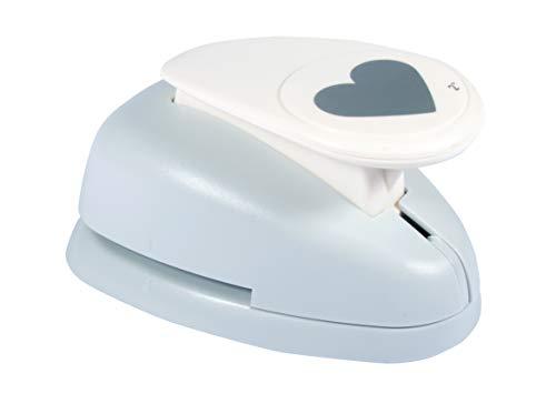 Rayher Perforadora con diseño de corazón, Naranja, ø 5cm (2'')