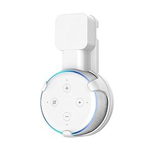 Soporte-para-Dot-3-generacin-Cozycase-gestin-de-Cables-incorporada-sin-Tornillos-Estuche-Compacto-en-cocinas-bao-y-Dormitorio-Blanco