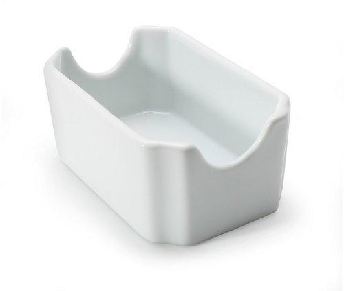 BIA Cordon Bleu White Porcelain Sugar Bag Holder