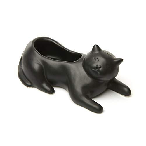 Cosmo The Black Cat Planter - PL14 - Kikkerland
