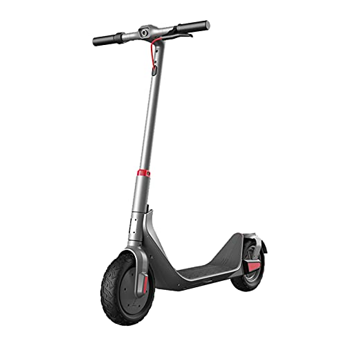 ZXQZ Scooters Eléctricos, Mini Coche de Batería Plegable Ligero Adulto, Tres Modos, Una Velocidad Máxima de 35 Km/H, Resistencia 40-50km (Color : Grey)