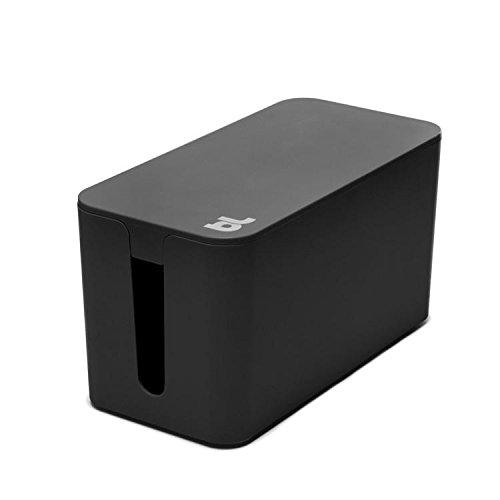Bluelounge CableBox Mini - Box vuurvaste kabelglijder zwart
