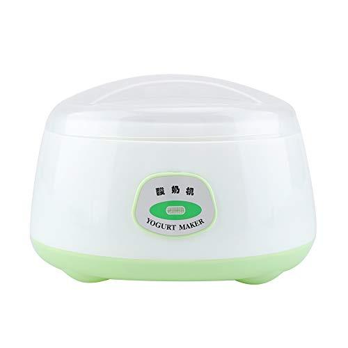 Máquina de fabricación de yogurt amigable con la dieta, máquina de fermentación automática de mini máquina de yogurt eléctrica de acero inoxidable...