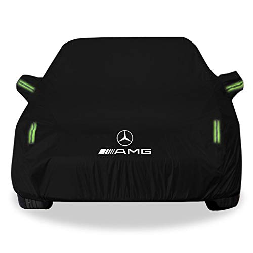 Whitejianpeak Funda para Coche Compatible con Mercedes-AMG ML Class Impermeable Cubierta del Coche Exterior del Coche Anti-UV Car Carpa Lona de Coche Interior y Exterior