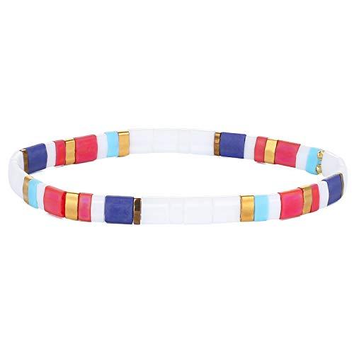KELITCH Bracelets De Perlés Tila Bracelets À Brin Miyuki Bijoux De Mode Faits À La Main en Corde pour Femmes 2020