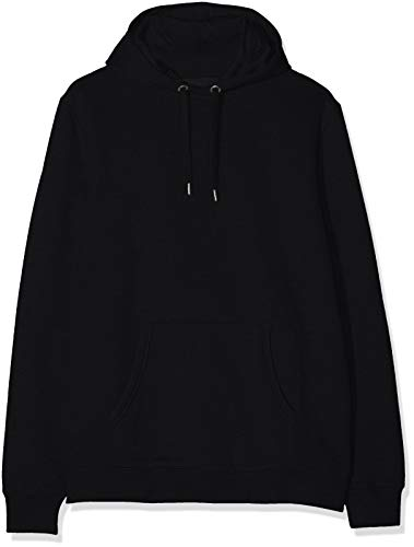 Marca Amazon - MERAKI Sudadera con Capucha Hombre, Negro (Black), XL, Label: XL
