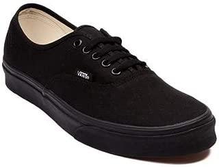 (バンズ) VANS 靴・シューズ スニーカー Vans Authentic Skate Shoe Black Monochrome Black/Mono ブラック/モノ US Men's 8.5, Women's 10 (M 26.5, W 27)
