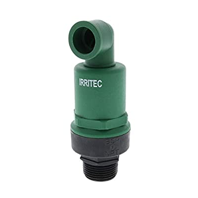 Drip Depot Continuous Auto Air Vent/Vacuum Relief Valve by Irritec - Size : 1 inch from