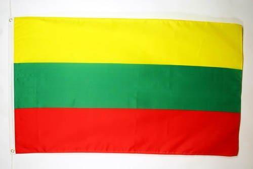 AZ FLAG Flagge LITAUEN 150x90cm - LITAUISCHE Fahne 90 x 150 cm - flaggen Top Qualität
