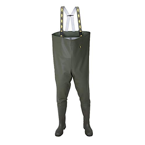 SB01 Wathose Anglerhose Watthose Angelhose Teichhose Stiefel PVC Gr. 43