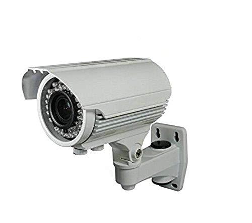 BW BW40T7 1/3 'Sony Effio-E 700TVL 960H Cámara de alta resolución de la cámara de la bala Cámara de seguridad casera Cámara de vigilancia infrarroja de la cámara del CCTV del IR con 2.8- 12m m Zoom y foco (IR 40M), OSD -White