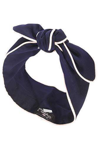SugarShock Damen Rockabilly Haarband 153148842 Blau One Size