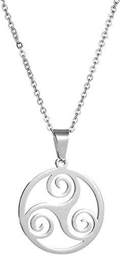 NC83 Teen Wolf Necklace Stainless Steel Triskelion Allison Pendant