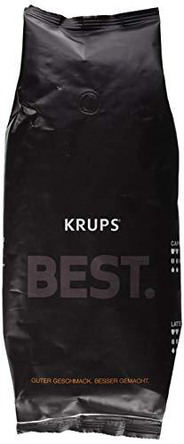 KRUPS Kaffeebohnen BEST CREMA ZES800 | aus 70% Arabica und 30% Robusta | schonend geröstet | in eleganter Verpackung
