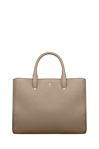 Aigner Damen Handtasche Ivy M Feather Grey