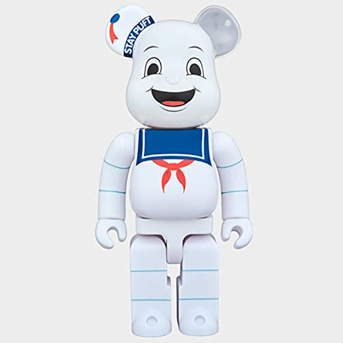 XJXJ-BEARBRICK 400% Violent Bear Ghostbusters Model Doll Figure Figure-28 cm (11 inches) Doll Model Toy Gift,Tide playFashion Toys,Home Decoration