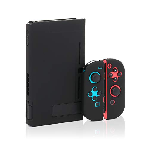 Protective Cover Case for Nintendo Switch, Black Hard Case for Nintendo Switch