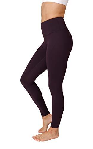 Leggins de control de abdomen de alta cintura Reflex de 90 grados - Morado - Small