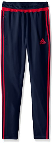 adidas Youth Tiro 15 Trainingshose Gr. 34-37, Collegiate Navy/Rot