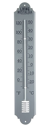 Kitchen Craft 50 cm, Living Nostalgia Outdoor Metall-Hauswand-Thermometer