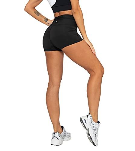 LAPASA Pantalón Deportivo Corto Mujer Cintura Alta Versión 2021 L09