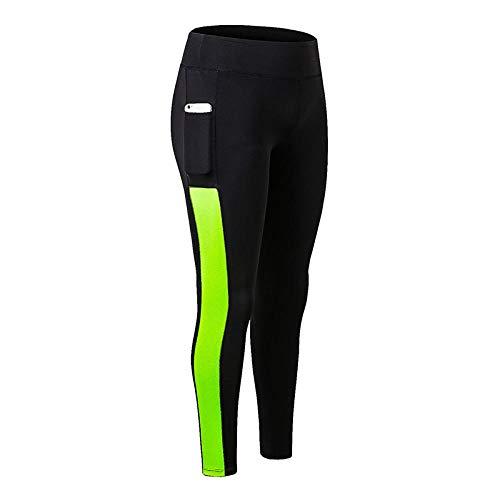 LYWZX Leggings De Yoga para Mujeres Sport Leggings High Waist Women Yoga Pants Sportswear Flexible Yoga Leggings Tight Training Gym Wear Women-C_XL