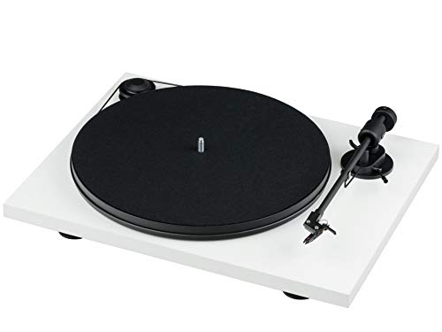 Pro-Ject Primary E, Audiophiler Plug&Play Plattenspieler (Weiß)