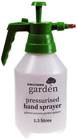 Garden Sprayer, 1.5 Liters Pressurized Hand Sprayer, Weed Killer Pump...