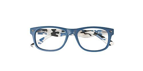 El Charro Occhiali da Lettura Modello California Blu/Maculato, Diottria +2-1 Prodotto