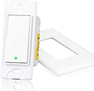 meross Smart WiFi 3-Way Switch, Compatible with Alexa, Google Assistant and IFTTT, Easy In-Wall Installation (3-Way Only),...