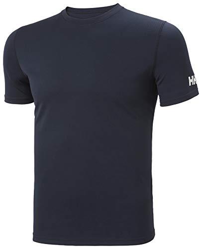 Helly Hansen HH Tech T-Shirt, Maglietta Tecnica Uomo, Navy, 2XL